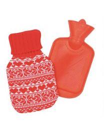 Kerst accessoires, kruik met vrolijk Kerst ontwerp