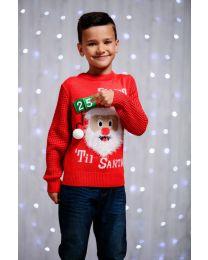 Kersttrui 3D countdown, Kinderen