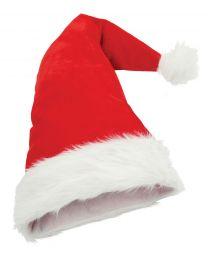 Kerstmuts Plush Kerstman