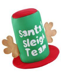 Kerstmuts Slee Team Hoed