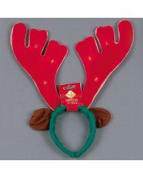 Kerstmuts Hoofdband Rudolph