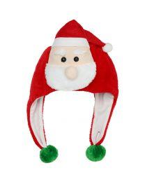 Kerstmuts Plunche Kerstfiguur Uni