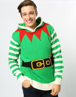 Kerst sweater bedrukken